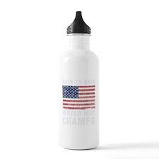 Back to Back World War Sports Water Bottle