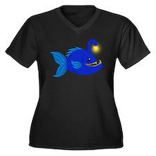 Anglerfish Plus Size T-Shirt