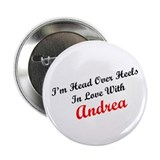 In Love with Andrea 2.25&quot; Button (100 pack)