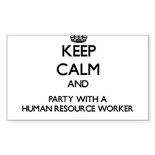 Keep Calm and Party With a Human Resource Worker S