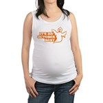 Ghost October Baby Maternity Tank Top
