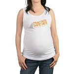 Practice Safe Hex Maternity Tank Top