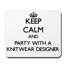 Keep Calm and Party With a Knitwear Designer Mouse