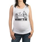 Mummy to be Egyptienne Maternity Tank Top