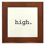 high. Framed Tile
