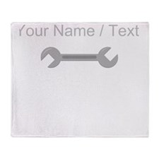 Custom Wrench Throw Blanket