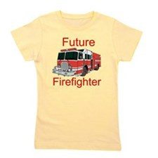 Future Firefighter Girl's Tee
