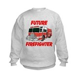 Fire trucks fire fighters Crew Neck