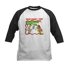 Custom Fireman Cartoon Baseball Jersey