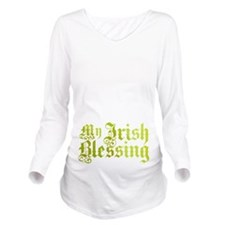 My Irish Blessing Long Sleeve Maternity T-Shirt