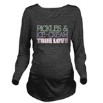 Pickles Icecream True Love Long Sleeve Maternity T