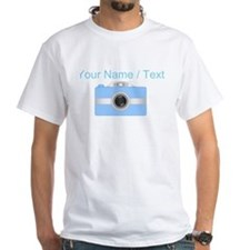 Custom Blue Camera T-Shirt