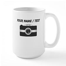 Custom Black Camera Mugs