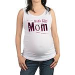 Pink Rock Star Mom Maternity Tank Top