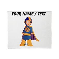 Custom Super Hero Throw Blanket
