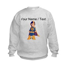 Custom Super Hero Sweatshirt