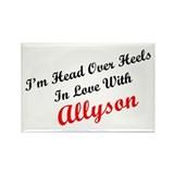 In Love with Allyson Rectangle Magnet (10 pack)