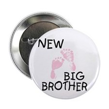 "New Big Brother (pink) 2.25"" Button (10 pack)"