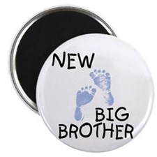 "New Big Brother (blue) 2.25"" Magnet (10 pack)"