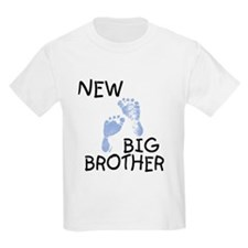 New Big Brother (blue) Kids T-Shirt