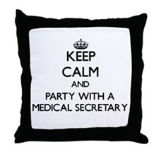 Keep Calm and Party With a Medical Secretary Throw