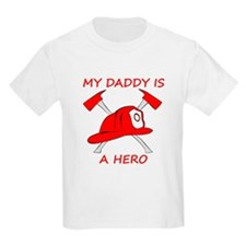 My Daddy Is A Hero T-Shirt