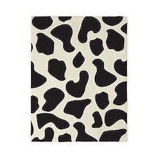 Cow Skin Cow Pattern Twin Duvet