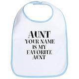 Aunt favorite Cotton Bibs
