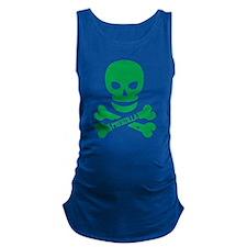 Pregzilla Skull Maternity Tank Top