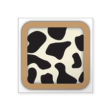 Cow Skin Cow Pattern Sticker
