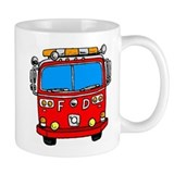 Fire Engine Small Mug