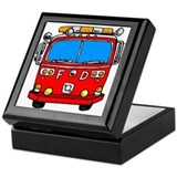 Fire Engine Keepsake Box