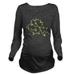 Growth Vines Long Sleeve Maternity T-Shirt