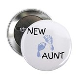New Aunt (blue) Button