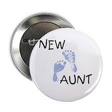 New Aunt (blue) Button