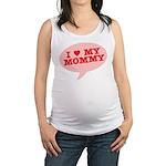 I Heart My Mommy Maternity Tank Top