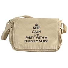 Keep Calm and Party With a Nursery Nurse Messenger
