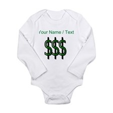 Custom Dollar Signs Body Suit
