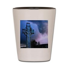 Celtic Blue Shot Glass