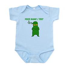 Custom Green Ninja Body Suit