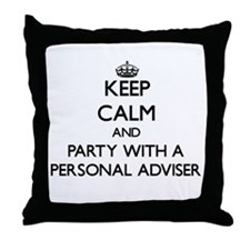 Keep Calm and Party With a Personal Adviser Throw