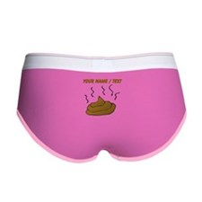 Custom Poop Women's Boy Brief