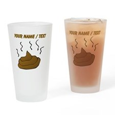 Custom Poop Drinking Glass