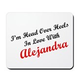 In Love with Alejandra Mousepad