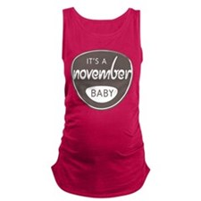 Grey November Maternity Tank Top
