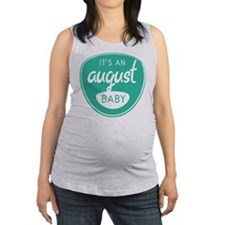 Sea August Maternity Tank Top