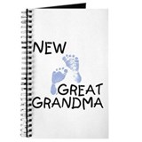New Great Grandma (blue) Journal
