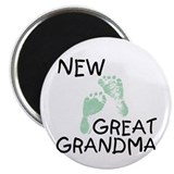 New Great Grandma (green) Magnet