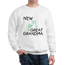 New Great Grandma (green) Sweatshirt