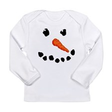Cute Snowman Long Sleeve T-Shirt